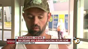 San Diego couple survives Vegas shooting, lands safely at Lindbergh Field