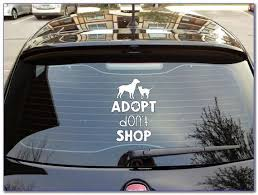 Adopt Dont Shop Car Decal Perfect Gift For Any Animal Lover Car Vintage Sticker Vechile Stickers Dog Cat Pet Furr Baby Car Decals Baby Messages Car