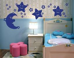 Moon Stars Wall Decal Set Style And Apply