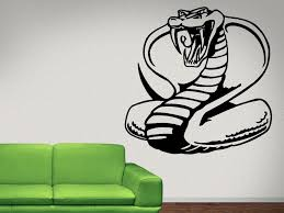 Cobra Snake Funny Wall Decal Cobra Snake Wall Decal Sticker Nuovocreations