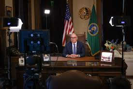 Washington state Gov. Inslee announces ...
