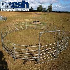 China Horse Fence Panels Hot Dipped Galvanized Hot Sale 7 Rail China Pvc Horse Fence Horse Fence Wire