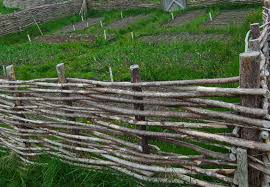 How To Build A Perfect Wattle Fence Starting Today Garden And Happy