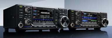 icom ic 9700 with ic 7300