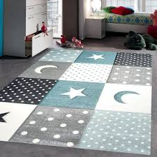 Grey Blue Star Rug Children Kids Boys Bedroom Rugs Soft Thick Woven Playroom Mat Home Furniture Diy Boys Bedroom Rugs Bedroom Rug Boys Bedroom Paint Color
