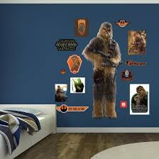 Star Wars Episode Vii Chewbacca Wall Decal Allposters Com