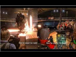 All DEREK SIMMONS BOSS FIGHT with LEON and ADA WONG CAMERA GAMEPLAY  Perspective   Resident evil 6 - YouTube