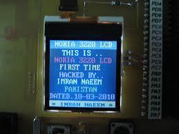 NOKIA 3220 LCD HACK | Imran Naeem