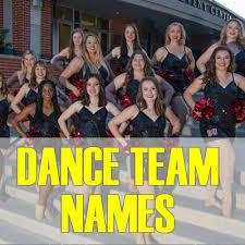 praise dance team names 2020 best
