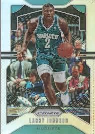 2019-20 Panini Prizm Basketball Silver Parallel #15 Larry Johnson ...