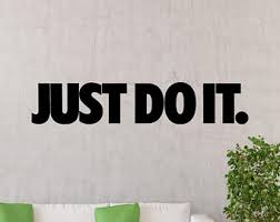 Just Do It Poster Etsy