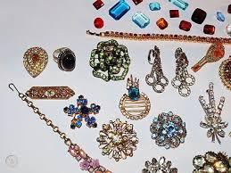 vine costume jewelry lot