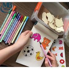 Bộ khuôn hình tập vẽ và tô màu giúp bé sáng tạo, giá chỉ 125,000đ ...