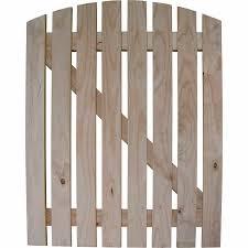 Motueka Pickets Picket Gate Round Profile Top Fencing Timber Mitre 10
