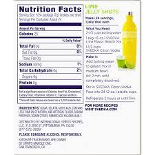 mango pineapple svedka nutrition facts