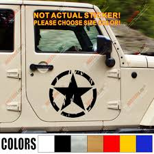Army Star Distressed Style Car Truck Decal Bumper Sticker Vinyl Die Cut Choose Size And Color Sticker Vinyl Truck Decalsbumper Sticker Aliexpress