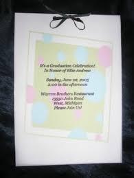 homemade graduation invitation ideas