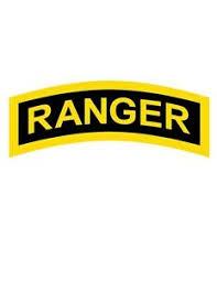 U S Army Ranger Tab Car Vinyl Window Decal Sticker Ebay