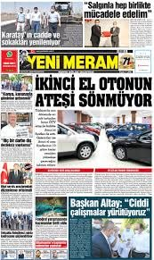 13 Eylül 2020 Yeni Meram Gazetesi - Yeni Meram