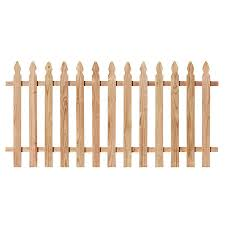 Severe Weather 3 Ft H X 8 Ft W Cedar French Gothic Fence Panel In The Wood Fence Panels Department At Lowes Com