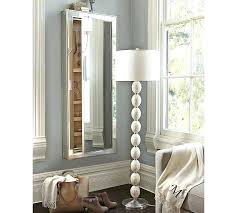 floor mirror jewelry cabinet storage
