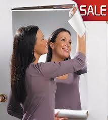 60x100cm big mirrors wall stickers home