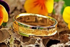 alaskan gold nugget mens rings mount
