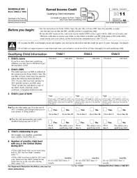 irs schedule eic 1040 form pdffiller