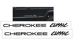 Graphic Express 1998 Jeep Cherokee Xj Classic Door Decal Set