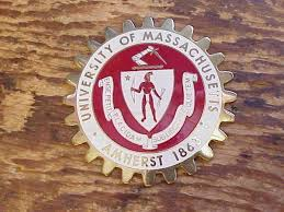 Umass Amherst Car Club Badge Vintage Nr Decal 21673196