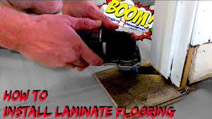 install laminate floor on concrete