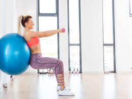ball workout for ility and strength