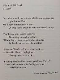 rimbaud love poems