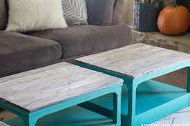 upcycled coffee tables