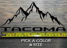 Toyota Tacoma Decals T4r Vinyl