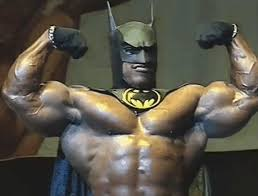 Aaron Baker as Batman by nothingtolookat on DeviantArt