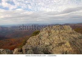 Summit Bearfence Mountain Trail Shenandoah National Stock Photo Edit Now 23209984