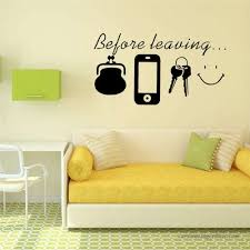 Before Leaving Quote Removable Vinyl Decal Art Mural Diy Home Decor Wall Sticker 362093899052