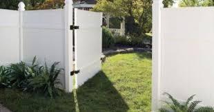 Veranda 3 1 2 Ft W X 6 Ft H White Vinyl Windham Fence Gate 181974 The Home Depot White Vinyl Fence Vinyl Fence Panels Vinyl Fence