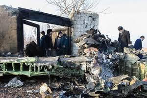 """Resultado de imagem para Vídeo mostra momento em que avião ucraniano atinge o chão no Irã"""""""