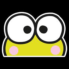 Peeker Anime Peeking Sticker Car Window Decal Pk433 Keroppi Frog Animestickershop