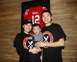 Family, Food and Football: Chinese immigrants Wan and Wen Lin find  inspiration in career of Tom Brady | News | richmondregister.com