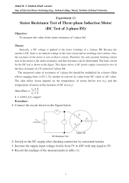 pdf three phase induction motor tests