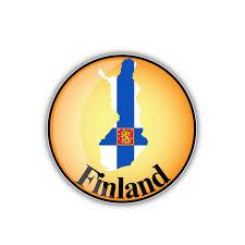 Yjzt 10 7cm 10 7cm Car Styling Finland Flag Round Car Sticker Map Motorcycle Car Window Decal 6 2041 Car Stickers Aliexpress