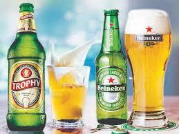 between two beers trophy vs heineken
