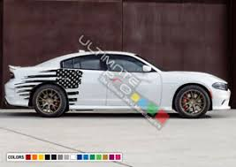 Sticker Side Decal Vinyl Us Flag Stripe For Dodge Charger Rt Srt 2010 2018 2020 Ebay