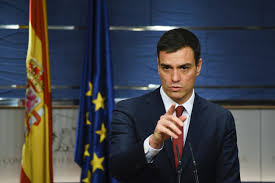Image result for pedro sanchez""