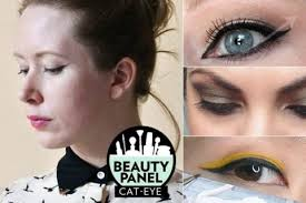 how to do a cat eye 12 beauty panel