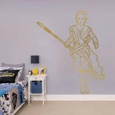 Rey Star Wars Wall Sticker Kuarki Lifestyle Solutions