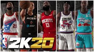 NBA 2K20   EVERY SINGLE JERSEY REVEALED ...